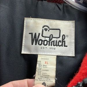 Woolrich Jackets & Coats - Vintage Woolrich Red and Black Winter Coat XL
